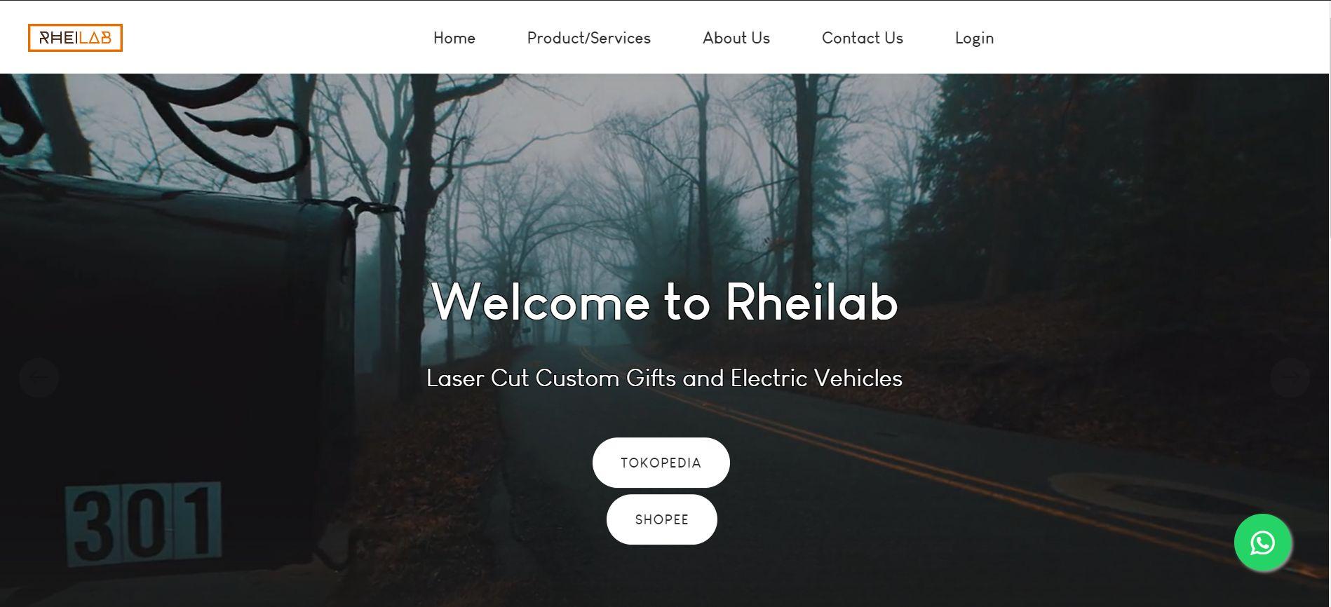 Web Company Profile Rheilab
