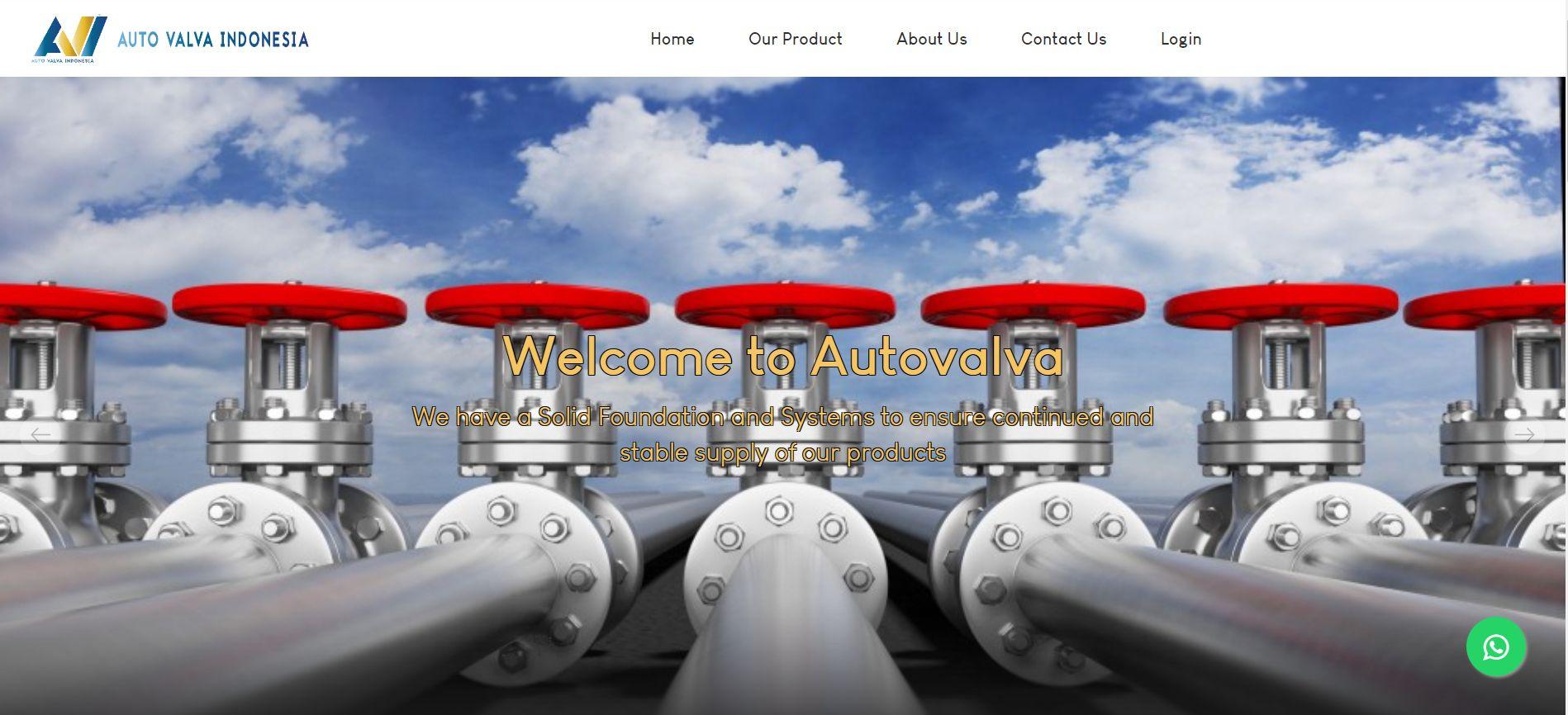 Web Company Profile Autovalva